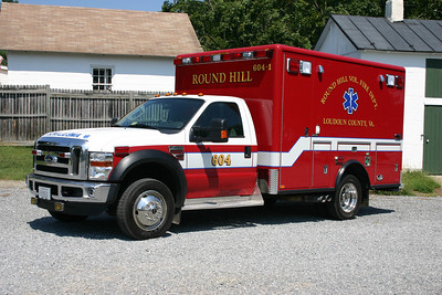 Medic 604 is a a 2009 Ford F450 built by Horton.