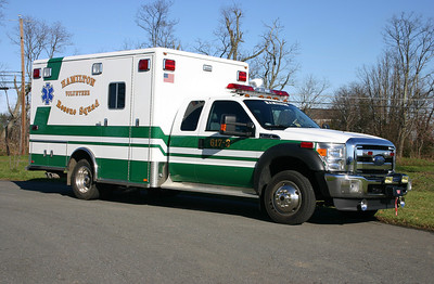 Another view of 617, a 2011 Ford F450 4x4/Horton.
