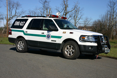 EMS 617 is a 2007 Ford Expedition.