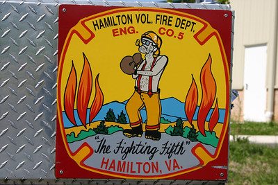 Hamilton VFD, Loudoun County Station 5.  The Hamilton Safety Center houses both Station 5 and Rescue Station 17.