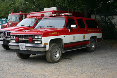 Former Command 8 was a 1990 Chevy Suburban.  Sold in 2008.