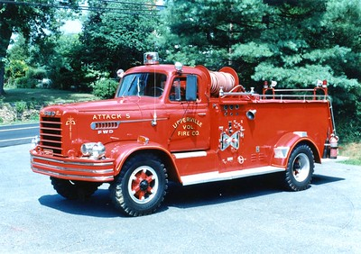 Former Attack 5, a 1962 FWD/1986 local, 500/400.  Sold to Linden, Virginia (Warren County), in 1993.  ex - Philomont, Virginia (Loudoun County).