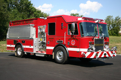 In addition to carrying 1500 gallons of water, Philomont's Engine 608B is also equipped with a 2100 gallon folding tank.