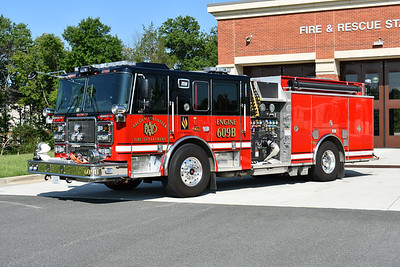 Arcola, Virginia operates twin 2016 Seagrave TB60CS 1750/750/20/20 as their Engine's 609 and 609B.  Pictured here is Engine 609B, assigned Seagrave serial number 78H98.