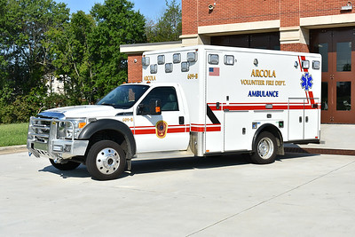 Medic 609-B is this 2011 Ford F450 4x4/Horton 457 model.