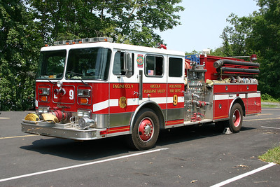 Old Engine 9 from Arcola - a 1990 Seagrave JB  1500/1250.