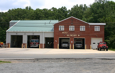 Old Arcola Fire Station 9.