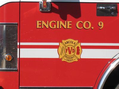 Arcola-Pleasant Valley VFD - Fire Station 9.