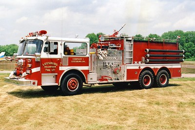 Leesburg's former Tanker 1, a 1981 Seagrave HB, 1250/2000.  Sold in 2002 to Spokane County District #3 (Cheney, Washington).