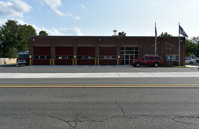 Leesburg, Virginia Fire Station 1 in Loudoun County.