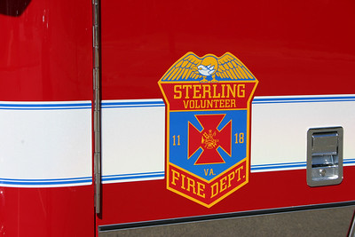 Sterling Volunteer Fire Department operates three stations - Fire Stations 11, 18, and 24.  The following photos are Station 11 apparatus.