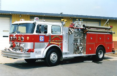 Former Engine 3, a nice 1977 Hahn, 1500/750.  ex - Sterling, Virginia (Loudoun County).  Sold to a dealer in Alabama in 2002.