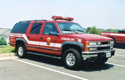 Former Command 18, a 1998 Chevy Suburban/Odyssey.