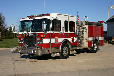 Originally Wagon 18, this Spartan Gladiator/Saulsbury 1500/750 was delivered in 1995.  It was sold in 2009 and currently runs with the Bakerton, West Virginia FD.