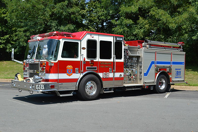 With Sterling's 2016 Spartan Gladiator/Smeal going into service as Engine 618, this 2009 KME Predator 1500/750 (GSO #7580) became Engine 618B in July of 2016.