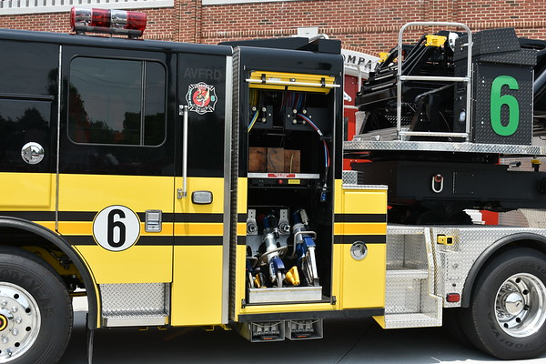 Truck 606 from Ashburn is also the department's extrication unit.