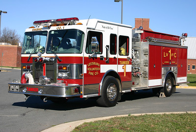 One of two identical 2000 Spartan Gladiator/Luverne's 1500/1250.  They operated originally as Engine 1 and Tanker 1.  Both sold in 2009, one to a department in Wisconsin and another in Alabama.