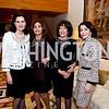 Alexandra de Borchgrave, Samia Farouki, DiDi Cutler, JoAnn Mason. Photo by Tony Powell. Lucky Roosevelt Decoration. Amb. of Spain's residence. October 28, 2014