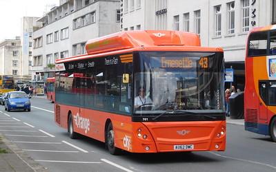 701 - AU62DWC - Plymouth (Royal Parade)
