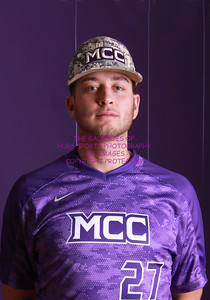 16-17 MCC BASEBALL #27 HEIDENTHAL