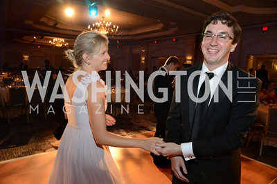 Margaret Lawrynowicz and Artur Orkisz with the Polish Embassy. MS Ambassadors Ball, September 10, 2014, Photo by Neshan H. Naltchayan