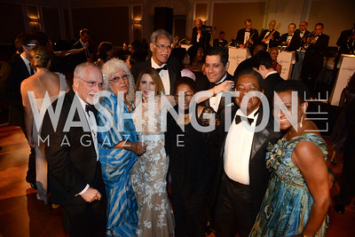 Members of the Washington Diplomatic Corps unite for the annual MS Ambassadors Ball. September 10, 2014, Photo by Neshan H. Naltchayan
