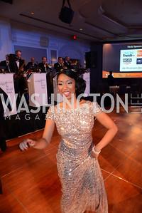 Alina George. MS Ambassadors Ball, September 10, 2014, Photo by Neshan H. Naltchayan