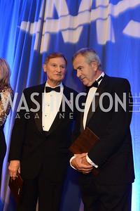 Rep. Spencer Bachus (AL) and Senator Mike Johanns (NE) MS Ambassadors Ball, September 10, 2014, Photo by Neshan H. Naltchayan
