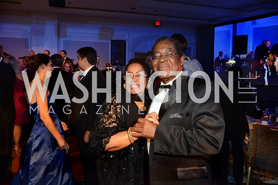 Mrs. Francoise Torchon Newry and Amb. Eugene Newry, Bahamas Ambassador to the United States. MS Ambassadors Ball, September 10, 2014, Photo by Neshan H. Naltchayan