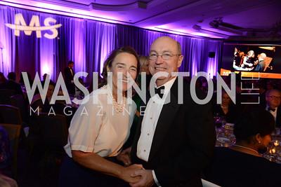 Sen. Blanche Lincoln  and Frank Snellings (husband of Sen.Mary Landrieu)  MS Ambassadors Ball, September 10, 2014, Photo by Neshan H. Naltchayan