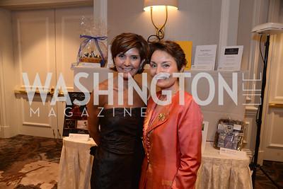 Ambassador Capricia Marshall and Toni Gore. MS Ambassadors Ball, September 10, 2014, Photo by Neshan H. Naltchayan