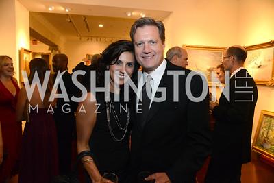 Majida Mourad and Rep. Michael Turner (OH). MS Ambassadors Ball, September 10, 2014, Photo by Neshan H. Naltchayan