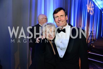 Debra Schiff and Thomas Kuhn. MS Ambassadors Ball, September 10, 2014, Photo by Neshan H. Naltchayan