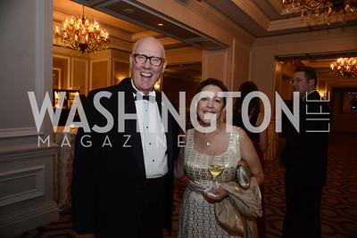 National MS Chapter President, Chris Broullire and Marilyn Harris. MS Ambassadors Ball, September 10, 2014, Photo by Neshan H. Naltchayan