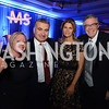 Liz Reicherts of BP, Azerbaijan's Ambassador, Elin Suleymanov and his wife, Lala Abdurahimova. and Robert Stout, also of BP. MS Ambassadors Ball, September 10, 2014,<br /> Photo by Neshan H. Naltchayan