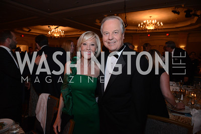 Connie Harriman Whitfield and husband, Rep. Ed Whitfield (KY). MS Ambassadors Ball, September 10, 2014, Photo by Neshan H. Naltchayan