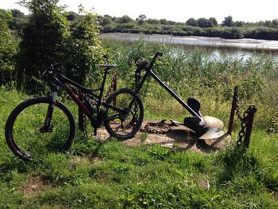 Nieuw fietsslotje.