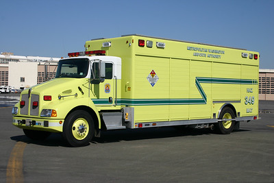 This 2003 KenWorth T3000/Hackney runs as Hazmat 349.