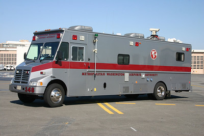 MWAA's former command post was Command 346, a 1995 Chevrolet/LDV.