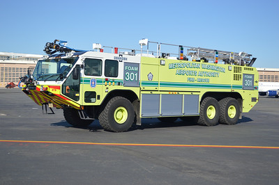 Foam 301 is this nice 2011 Oshkosh Striker, 1950/3000/420/900lbs dry chem, sn-23311.