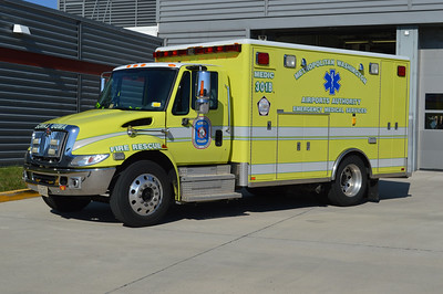 Medic 301B is a 2006 International 4300/Horton.