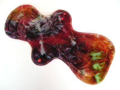 "ONE UltiMax Pad for Heavy Flow & Postpartum - ""ice dye"""