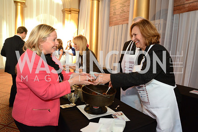 Liz Reicherts and Senator Deb Fischer (R-Neb.) March of Dimes Gourmet Gala, National Building Museum. May 7, 2014 Photo by Neshan H. Naltchayan
