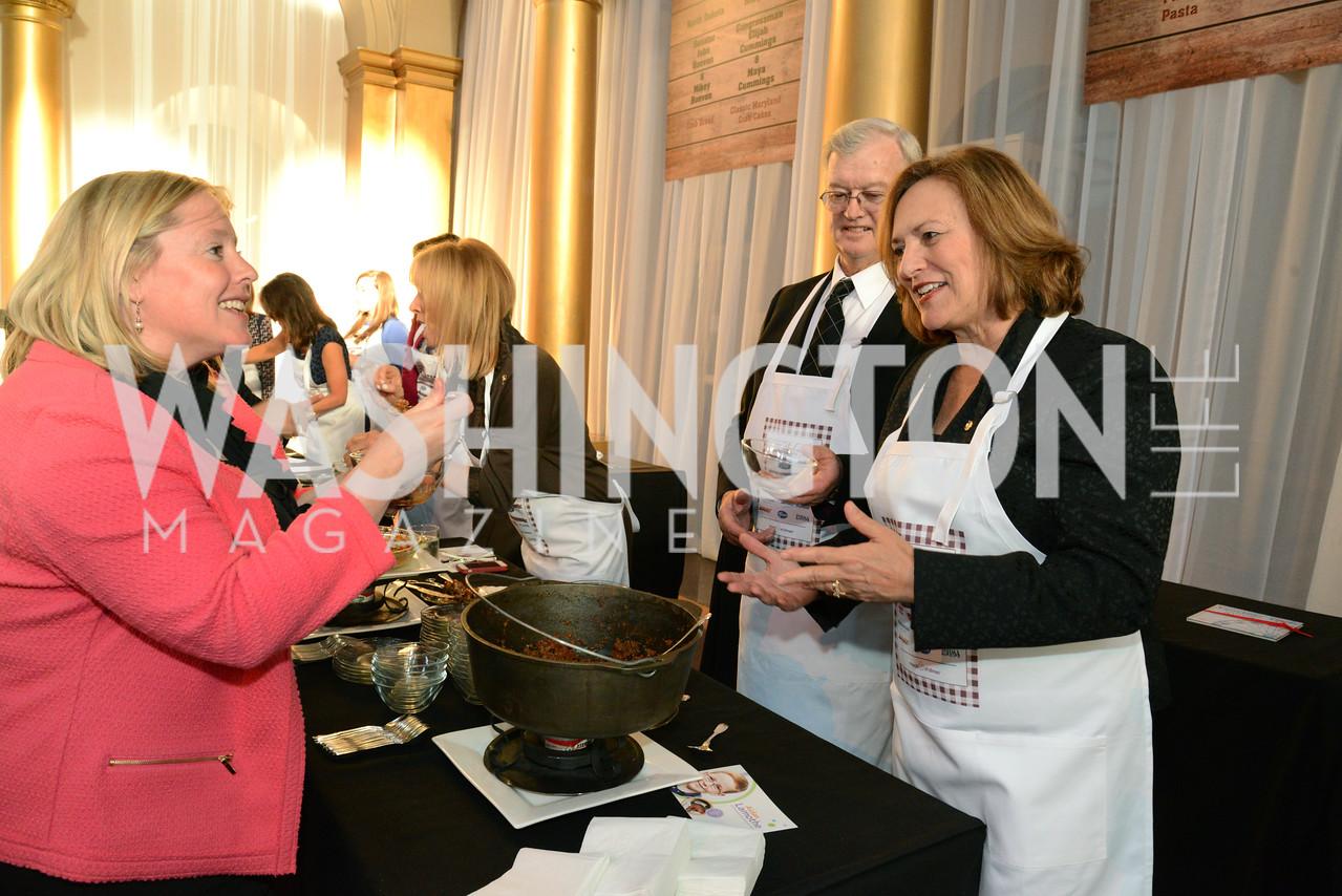 Liz Reicherts, Bruce Fischer and Senator Deb Fischer (R-Neb.) March of Dimes Gourmet Gala, National Building Museum. May 7, 2014 Photo by Neshan H. Naltchayan