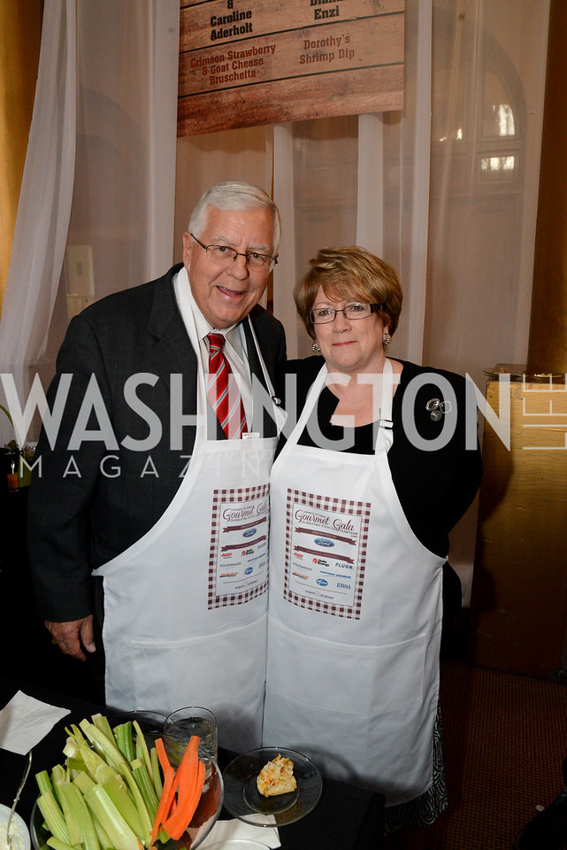 Senator Michael Enzi (R-WY) and Diana Enzi. March of Dimes Gourmet Gala, National Building Museum. May 7, 2014 Photo by Neshan H. Naltchayan