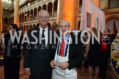 Kenneth Cole of Pfizer and Senator James Risch (R-ID). March of Dimes Gourmet Gala, National Building Museum. May 7, 2014 Photo by Neshan H. Naltchayan