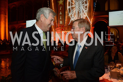 John Castellani (CEO of Pharma) and Senator Johnny Isakson (R-GA). March of Dimes Gourmet Gala, National Building Museum. May 7, 2014. Photo by Neshan H. Naltchayan