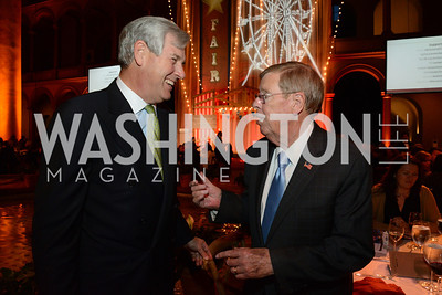 John Castellani (CEO of Pharma) and Senator Johnny Isakson (R-GA). March of Dimes Gourmet Gala, National Building Museum. May 7, 2014 Photo by Neshan H. Naltchayan