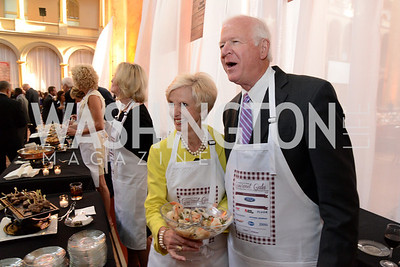 Julianne Chambliss and Senator Saxby Chambliss (R-GA). March of Dimes Gourmet Gala, National Building Museum. May 7, 2014 Photo by Neshan H. Naltchayan