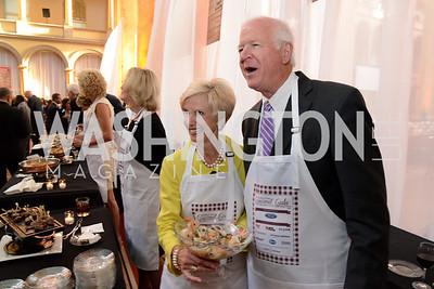 Julianne Chambliss and Senator Saxby Chambliss (R-GA). March of Dimes Gourmet Gala, National Building Museum. May 7, 2014 Photo by Neshan H. Naltchayan